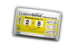 indicateur de température électronique CustomSense