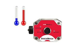 image de l'enregistreur ShockLog 298 option température