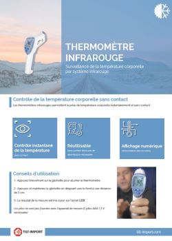 documentation thermomètre infrarouge covid-19