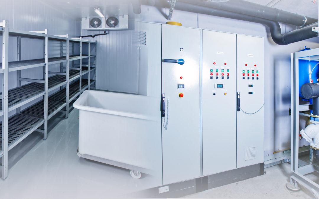 Enregistreur de température radio dans entrepôt frigorifique