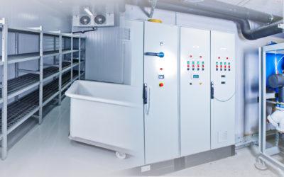 Enregistreur de température radio : surveillance de la température dans les entrepôts frigorifiques