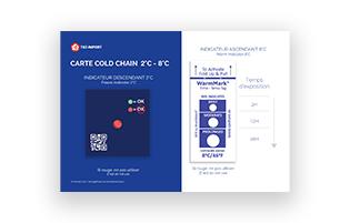 image du ouble indicateur de température chaîne du froid